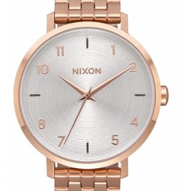 Nixon Nixon Arrow All Rose Gold White