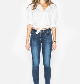 Silver Silver Womens Avery Super Skinny