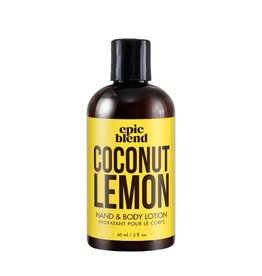 Epic Blend Epic Blend Coconut Lemon Hand & Body Lotion 2oz
