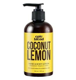 Epic Blend Epic Blend Coconut Lemon Hand & Body Lotion 8oz
