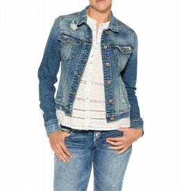Silver Silver Womens Jean Jacket