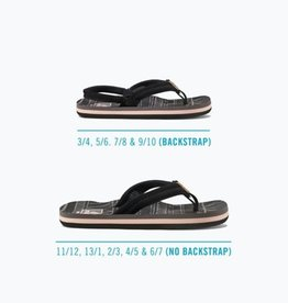 Reef Reef Youth Little Ahi Lite Sandal