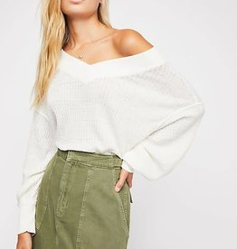 Free People Free People South Side Thermal Blouse