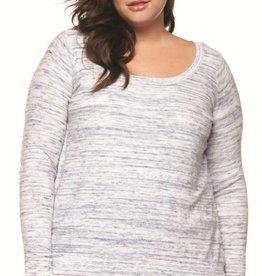 DEX Dex Plus Two Fer Sweater
