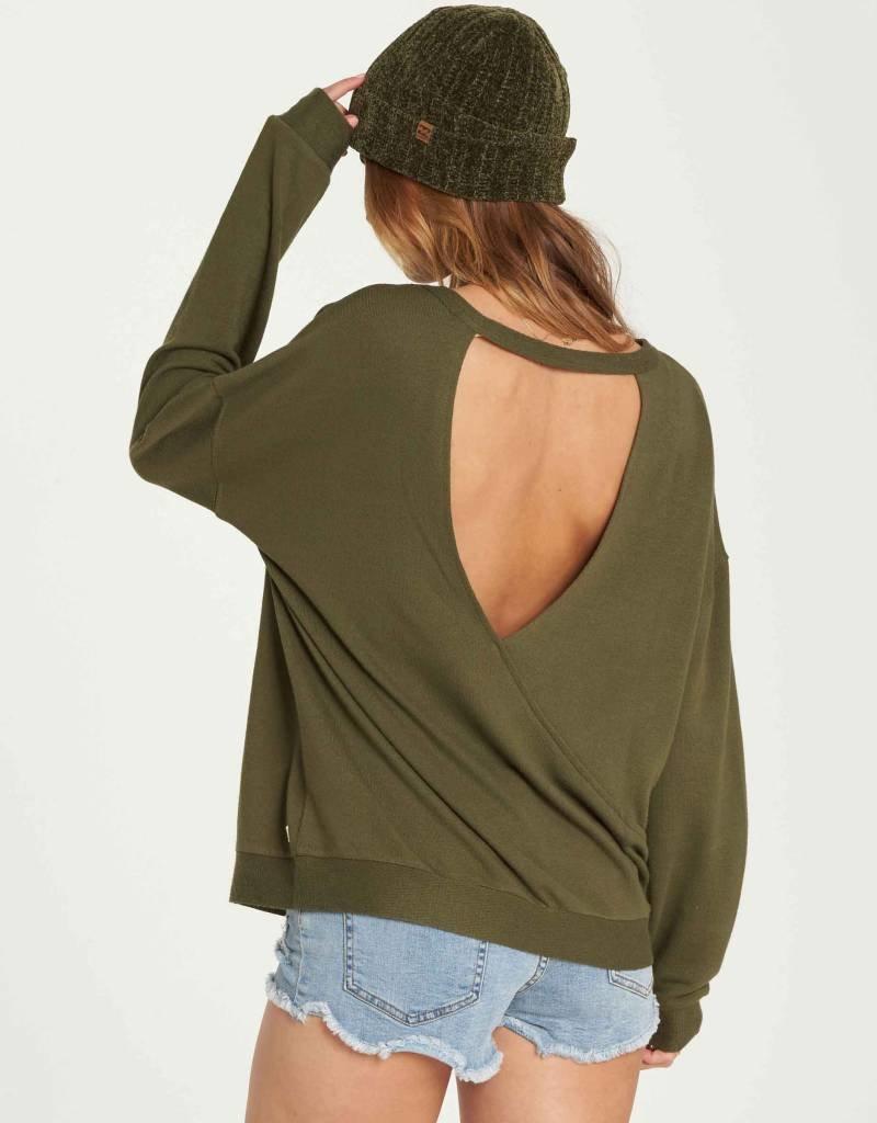 Billabong Billabong Womens Let Go Fleece Sweater