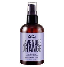 Epic Blend Epic Blend Body Oil Lavender Orange 4 oz