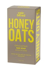 Epic Blend Epic Blend Honey Oats Exfoliating Bar Soap