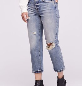 Free People Free People Womens Jean Extreme BF Fit