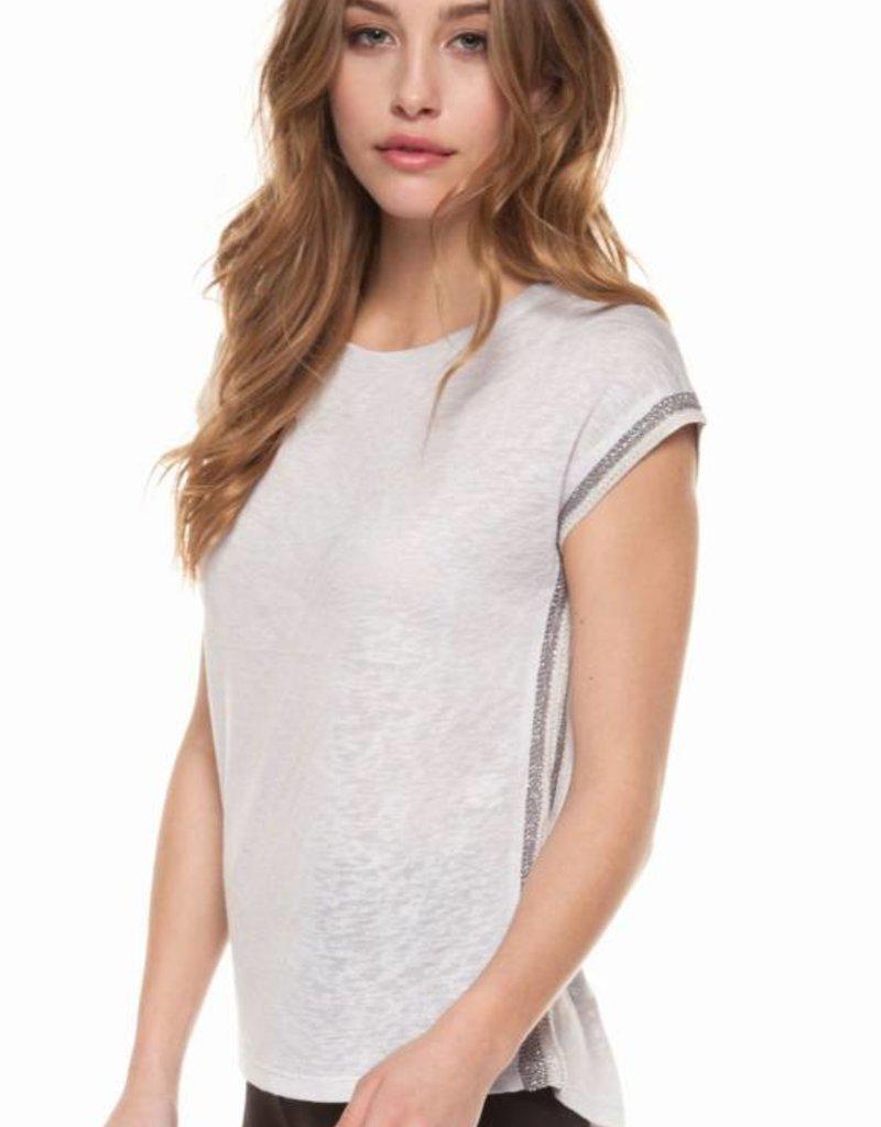 a29060a554f Dex Drop Shoulder Scoop Neck Shirt - 42nd Street Clothing