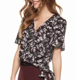 DEX Dex Wrap Top W/Self Tie