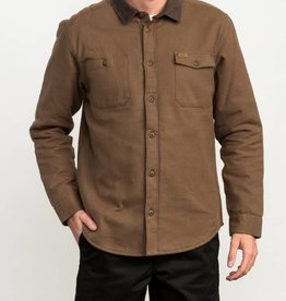 RUCA RVCA Mens Victory Sherpa Button-Up Shirt