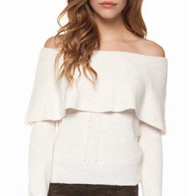 DEX Dex Off Shoulder Sweater