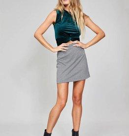 MinkPink Minkpink Houndstooth Mini Skirt