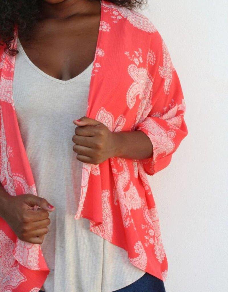 The Lila Kimono