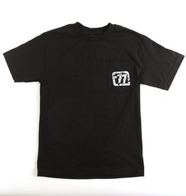 77' LOGO AND POCKET T-SHIRT