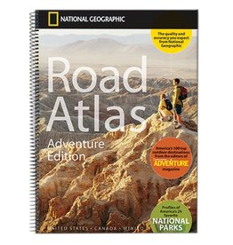 NAT GEO NAT GEO ROAD ATLAS ADVENTURE ED MAP