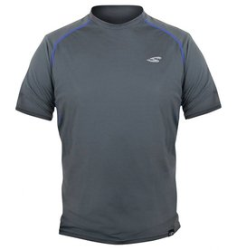 STOHLQUIST Loose Fit Rashguard - Short Sleeve Dark Gray SM