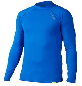 NRS NRS Men's H2Core Rashguard Long-Sleeve Shirt Marine Blue M