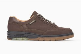 Mephisto NATASHA DARK BROWN NUBUCK/SILK