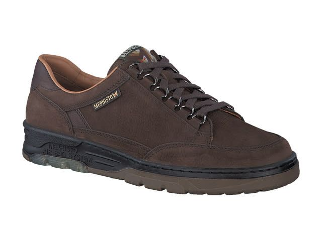 Mephisto MICK DARK BROWN SPORTBUCK/KANSAS