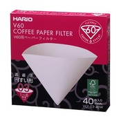 Hario V60 Filters 01 03 40 ct.