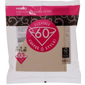 Hario V60 Filters 02 03 100 ct.