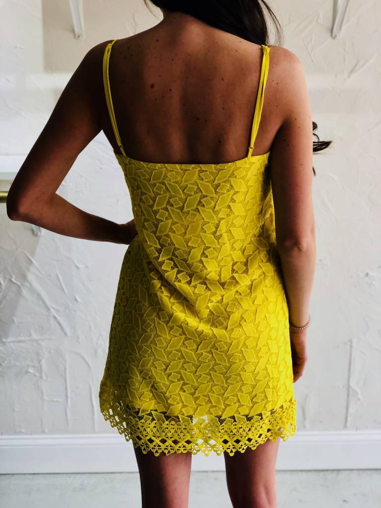 JEMMA LEMON DRESS