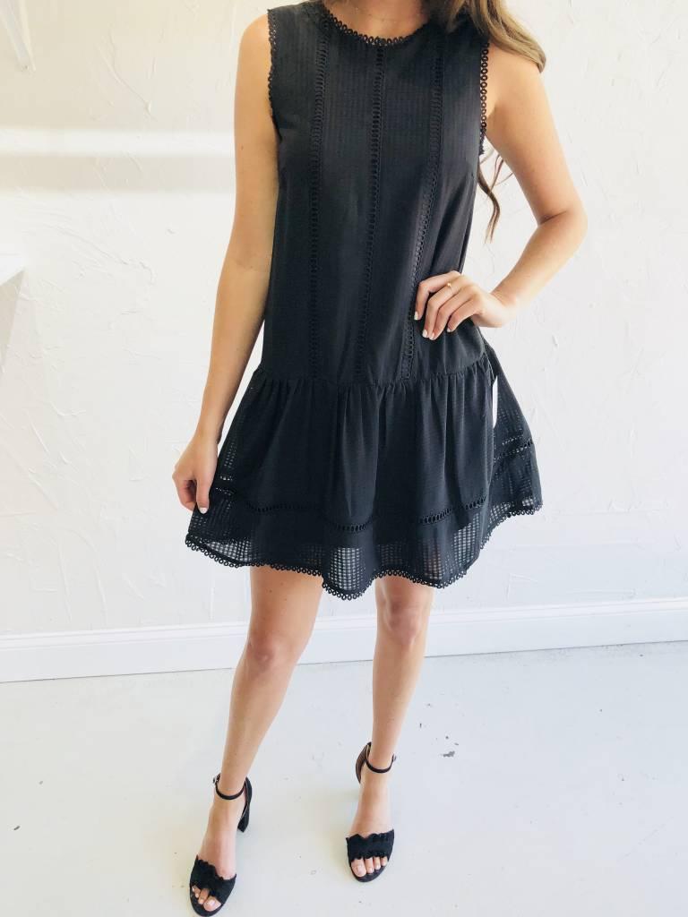 Adelyn Rae EVERLY GINGHAM SHIFT DRESS