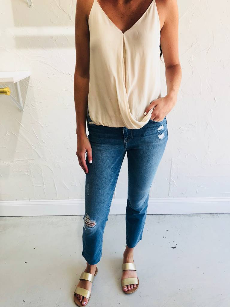 WRAP FRONT STRAP CAMI