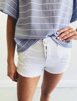 HR BUTTON UP WHITE SHORTS