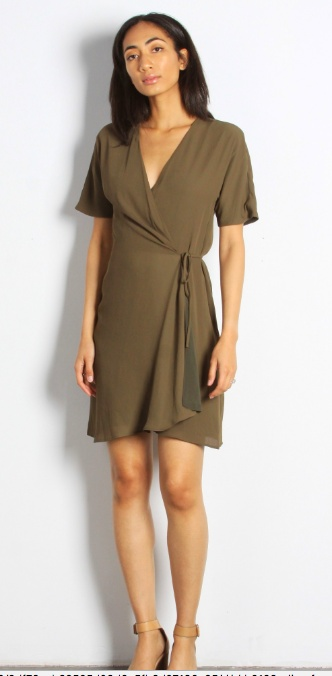 Olive Port Dress Elle Gray