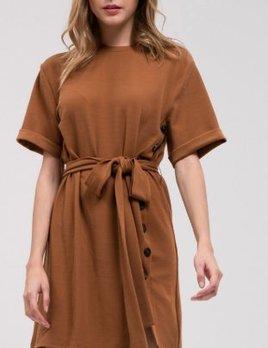 COCOA WOVEN DRESS
