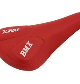 F&R Cycle Inc Vinyl Saddle Bmx 706 Red