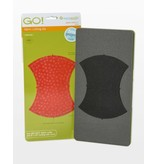 """Accuquilt Go! Apple Core - 6 3/4"""" (6 1/4"""" Finished)"""