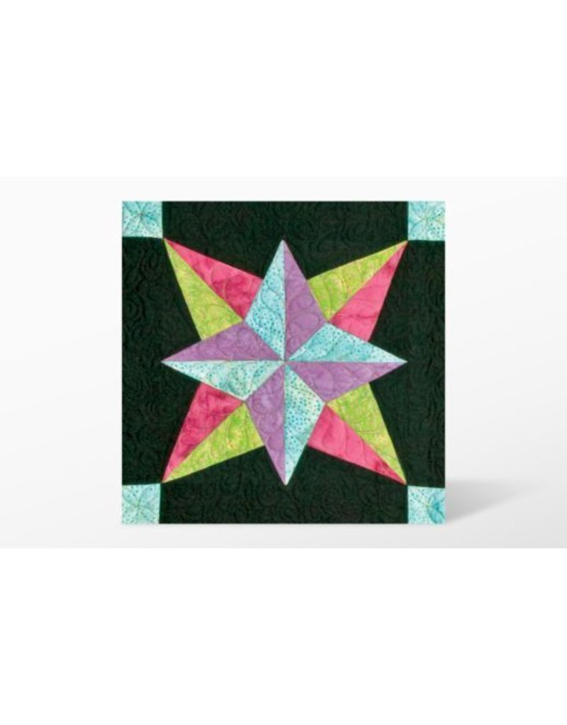 """Accuquilt Go! Blazing Star - 6"""" Finished by Eleanor Burns"""