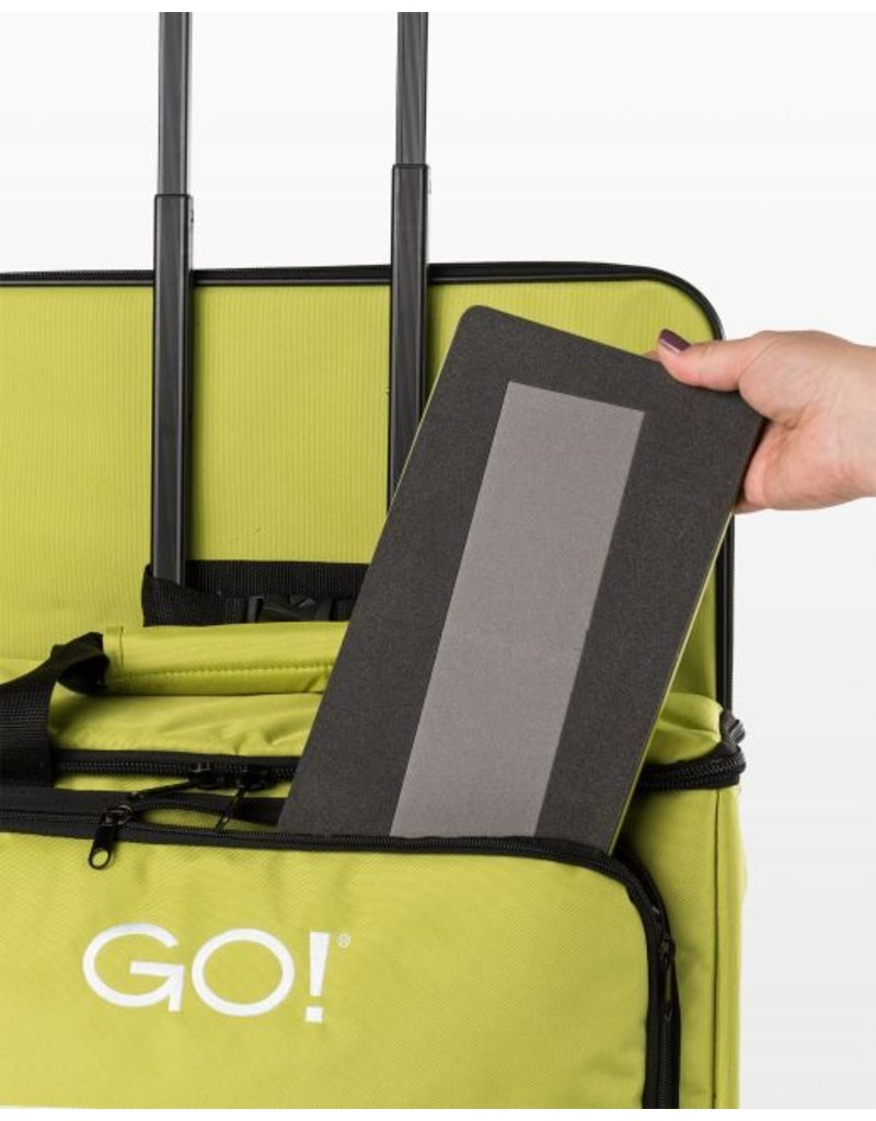 Accuquilt Go! Fabric Cutter Tote & Die Bag - Green