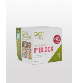 "Accuquilt Go! Qube Mix & Match 8"" Block"