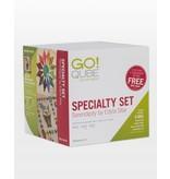 Accuquilt Go! Qube Specialty Set - Serendipity by Edyta Sitar