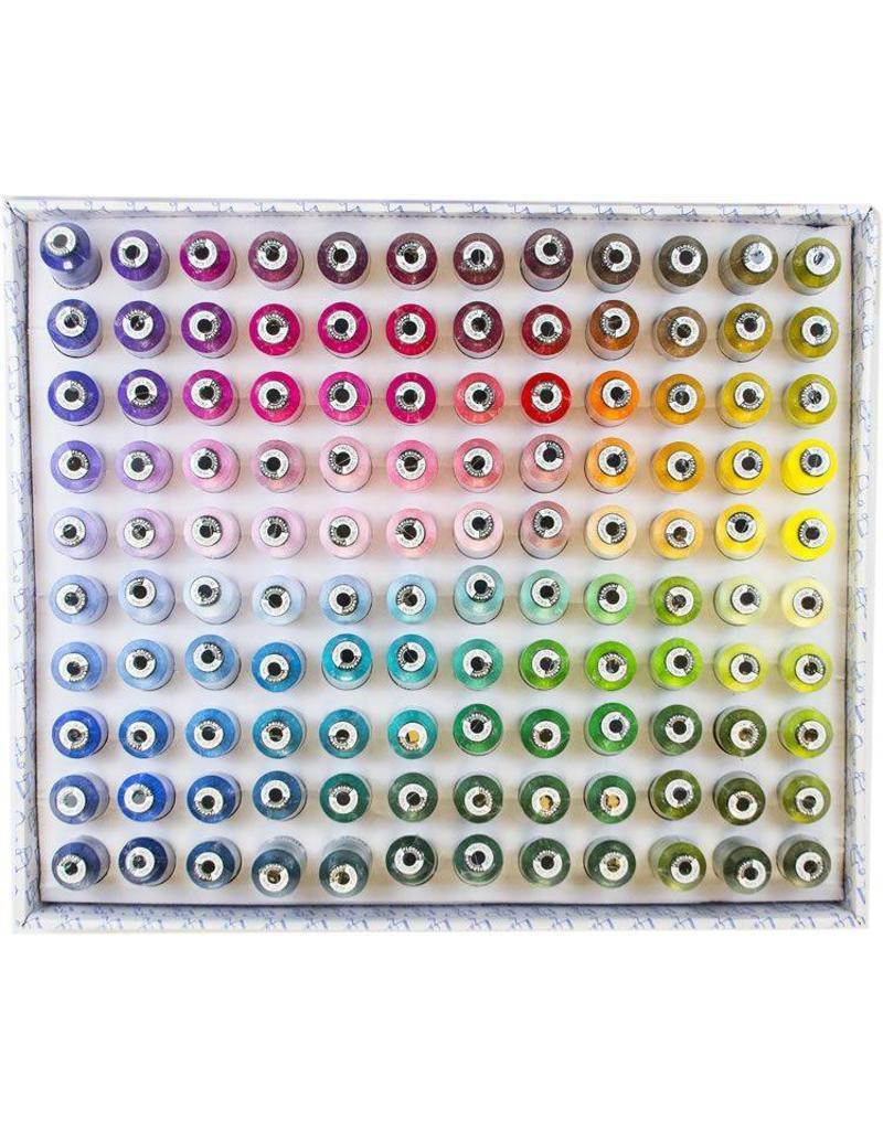 Floriani Floriani 120 Spool Thread Color Spectrum Set