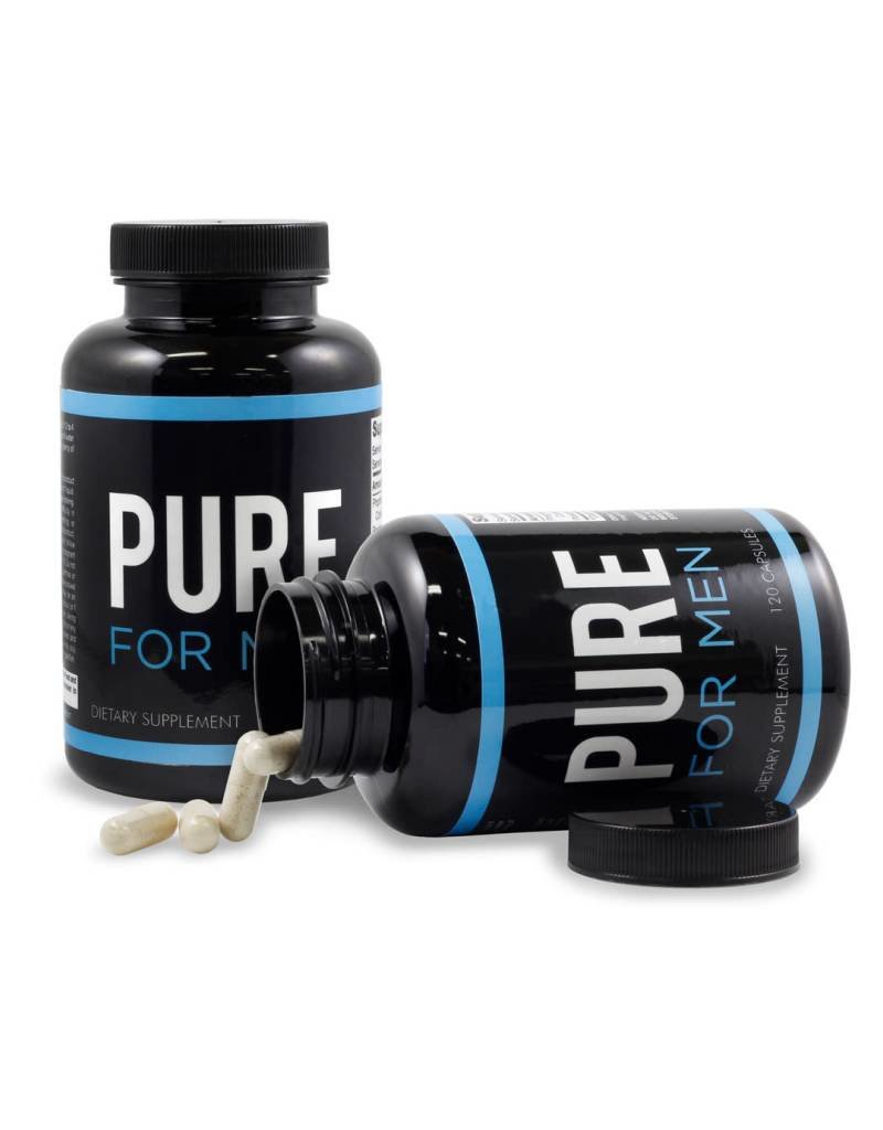 Pure for Men Bottle 120 Capsules