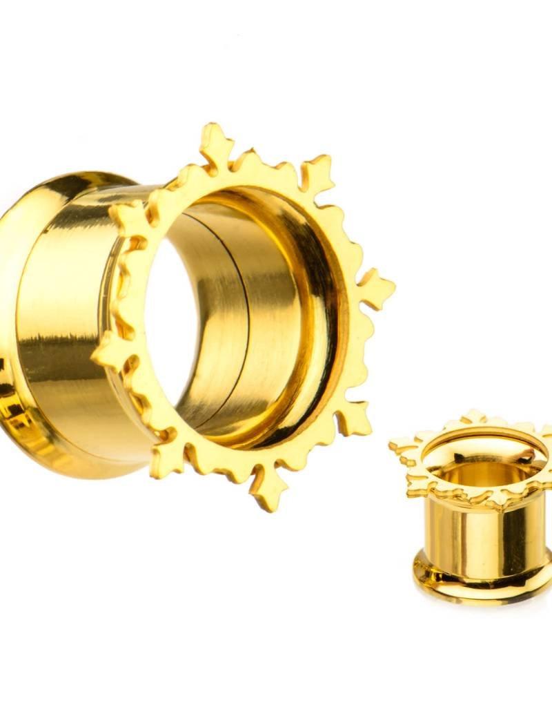 Gold Flare Plug (10/16)