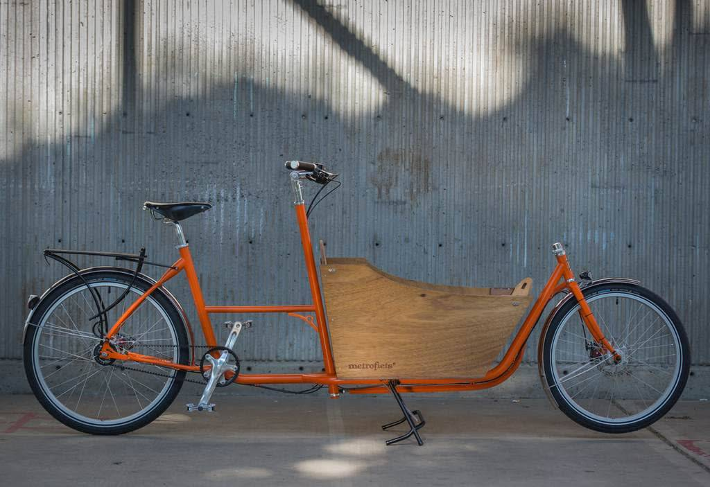 Metrofiets Standard 8 Orange