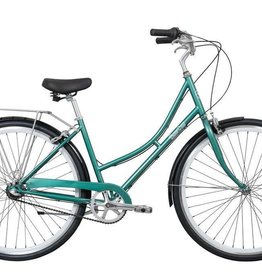 Pure Cycles Pure City Pearl 3sp 43cm Dark Green/White