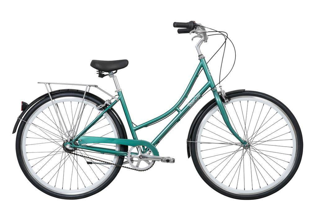 Pure Cycles Pure City Pearl 3sp 43/S Dark Green/White