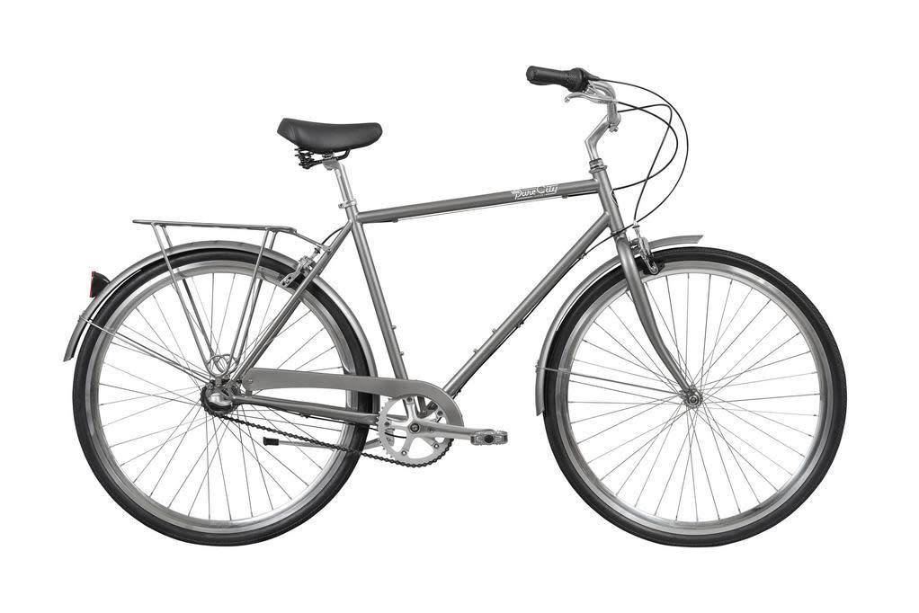 Pure Cycles Pure City Upton 3sp 50/S Grey/Black