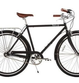 Pure Cycles Pure City Bourbon 3sp 54cm Black/Black