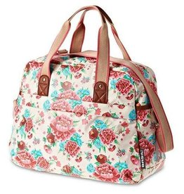 Basil Bloom Carry All Bag Gardenia / White