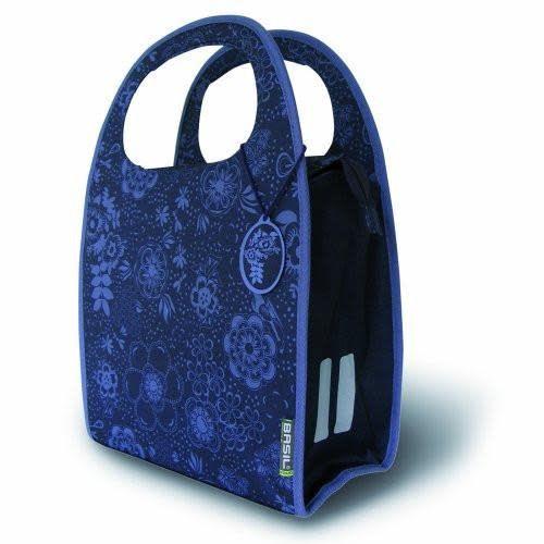 Basil Jada Mirte Shopper Bike Bag Single Bluberry Purple