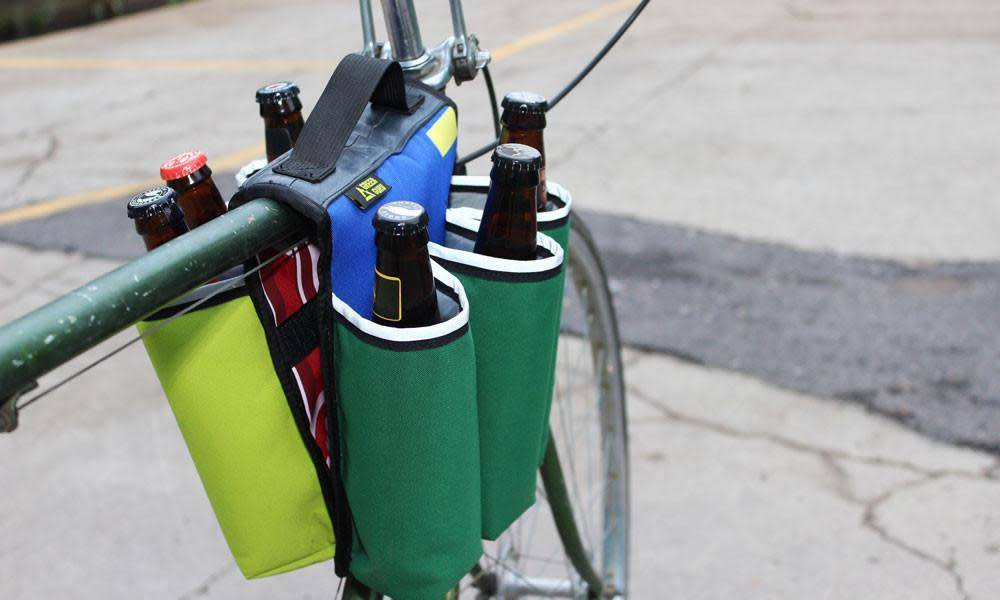 Green Guru Sixer 6-pack Top Tube Holder
