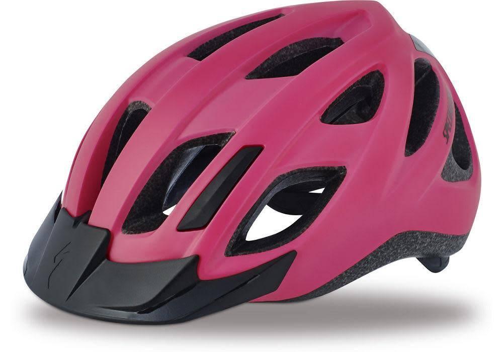 Specialized Helmet Centro LED Adult Hi Vis Pink